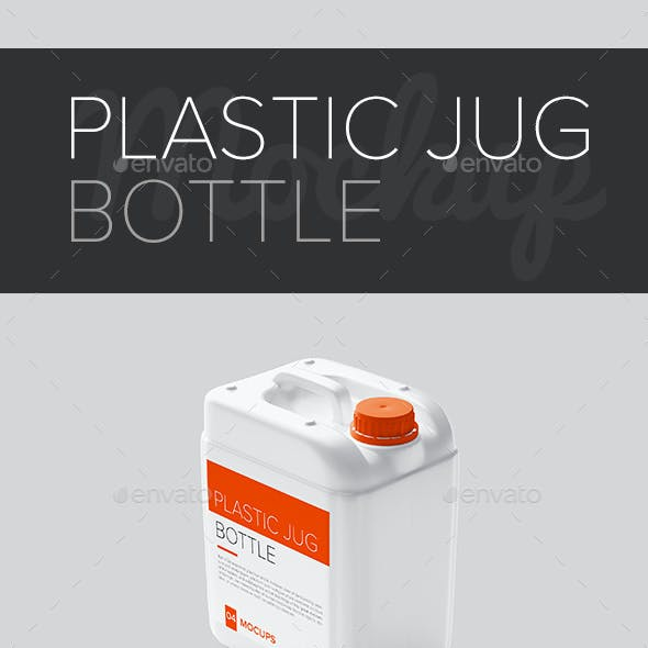 Plastic Jug Bottle