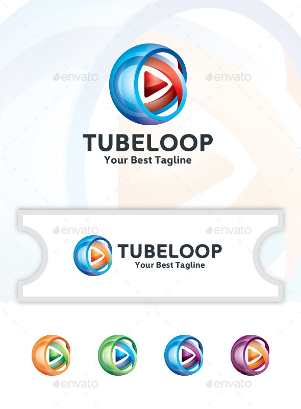 Video Channel - Logo Template - Logo Templates