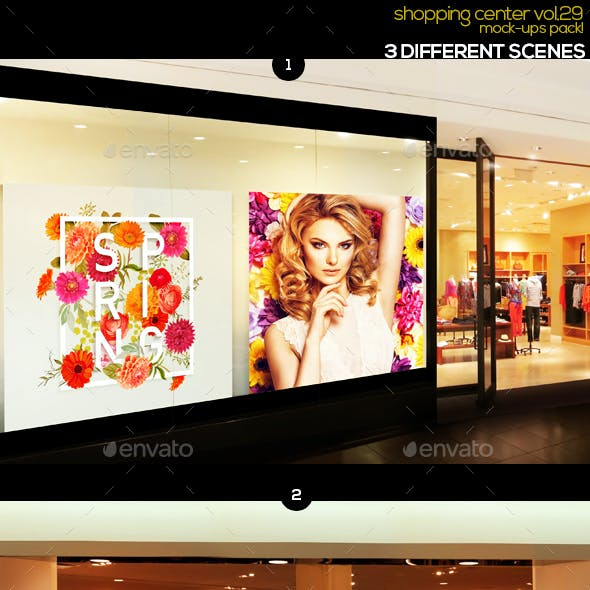 Shopping Center Vol.29 Mock Ups Pack