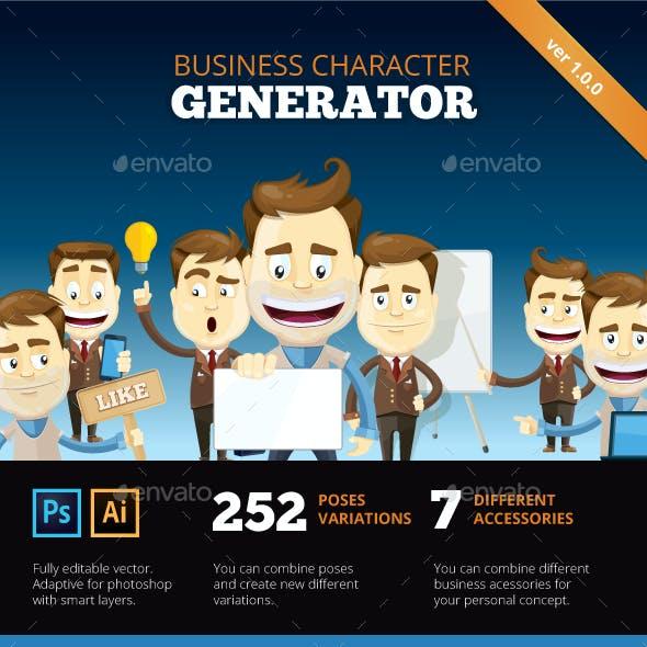 Business Mascot Creation Kit