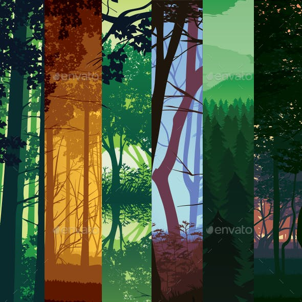 Landscapes with Deep Forest