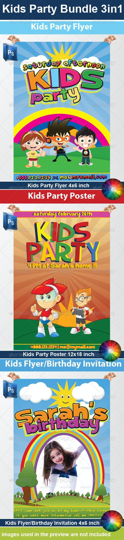 Kids Party Bundle - Miscellaneous Events