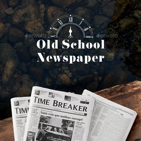 Old School - Newspaper