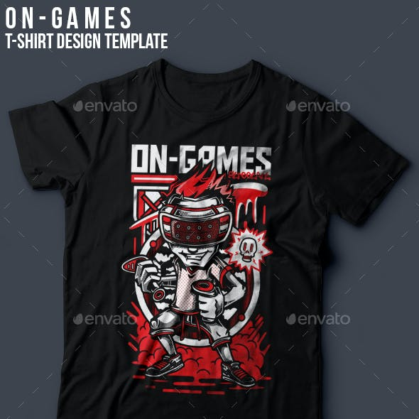 On-Games T-Shirt Design