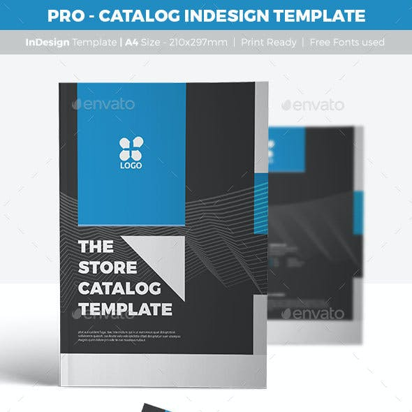 PRO - Catalog InDesign Template