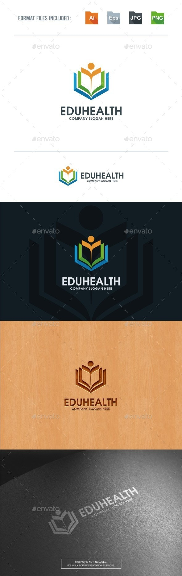 Health Education Logo Template - College Logo Templates