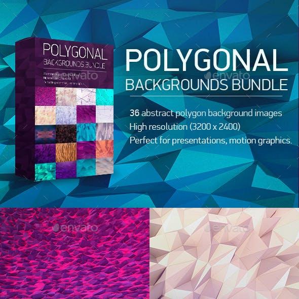 Polygon Backgrounds Bundle