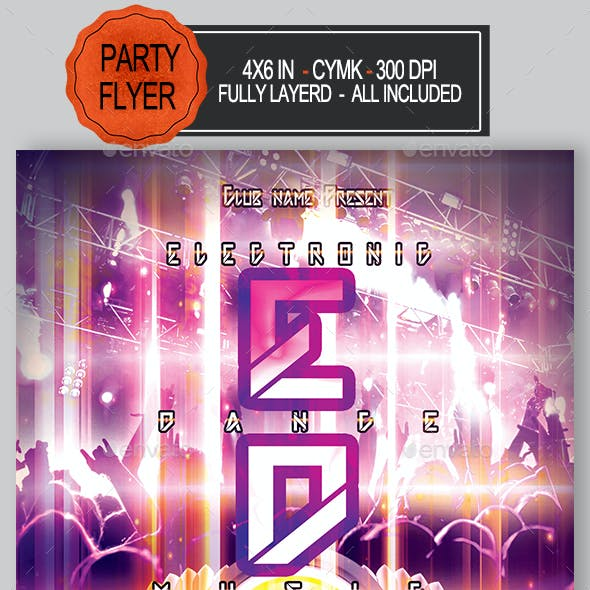 EDM Flyer