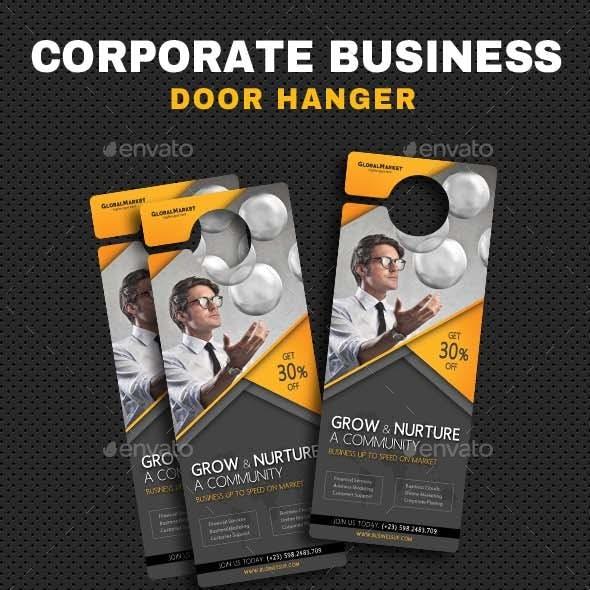 Corporate Door Hangers V19
