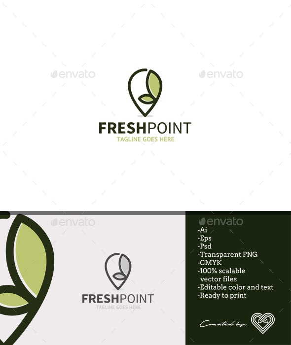 Fresh Point - Symbols Logo Templates