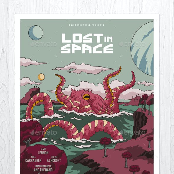 Lost in Space Flyer