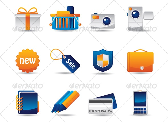 Web Vector Icons - Web Icons