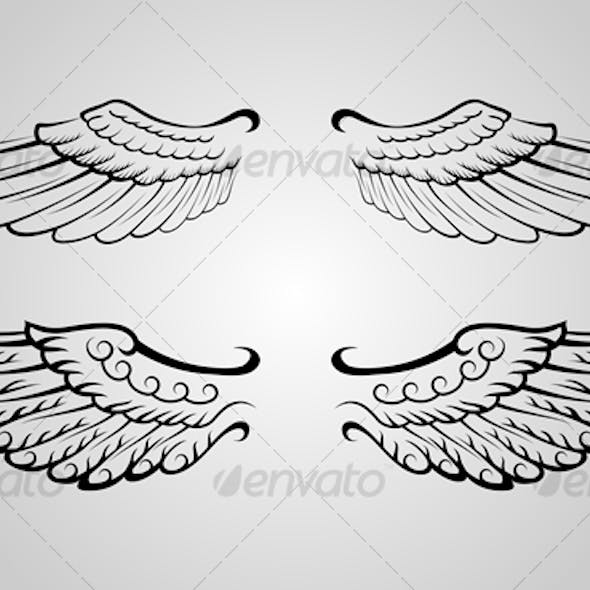 Wing Ornament 4