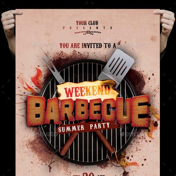 BBQ Flyer / Poster
