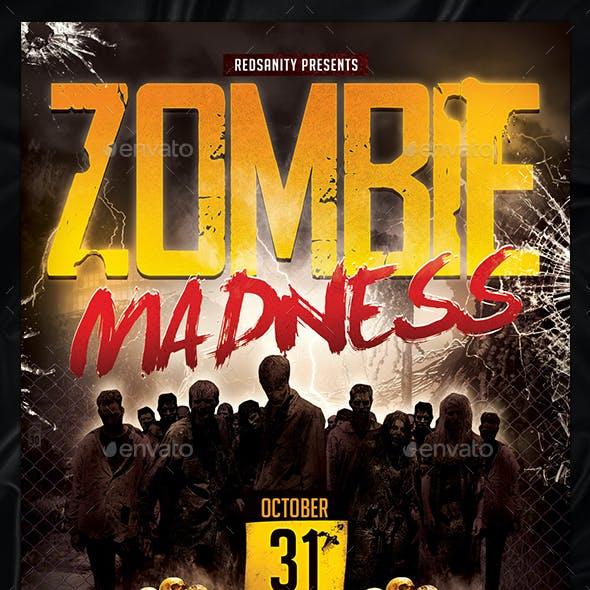 Zombie Madness Flyer