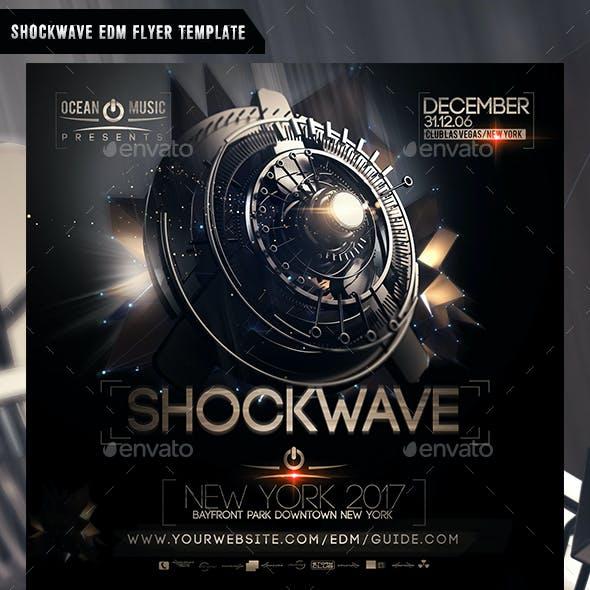 Shockwave EDM Flyer Template