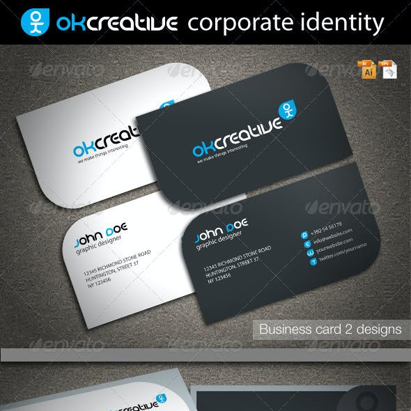 OK Creative Corporate Identity