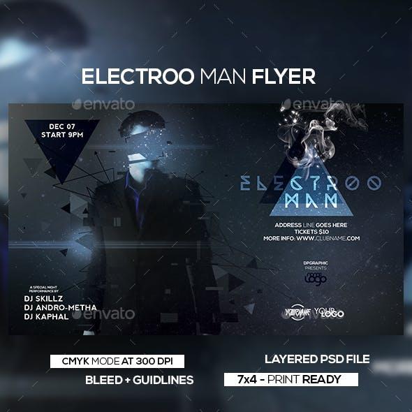Electroo Man Flyer