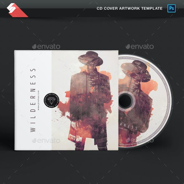 Wilderness - Creative CD Album Cover Template