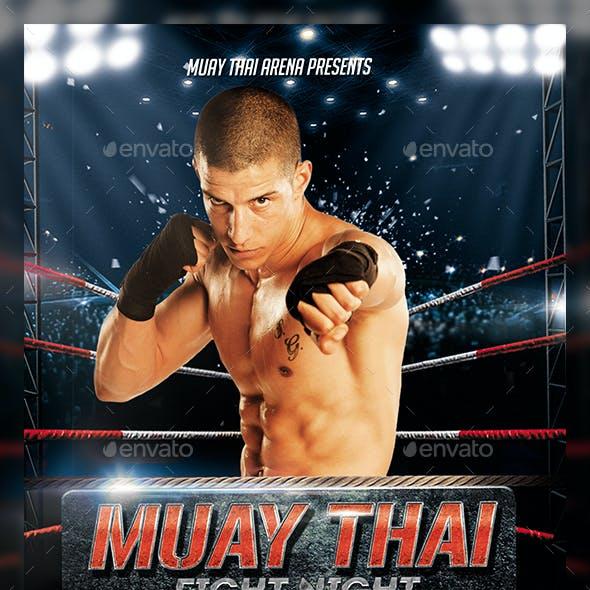 Muay Thai Flyer Template