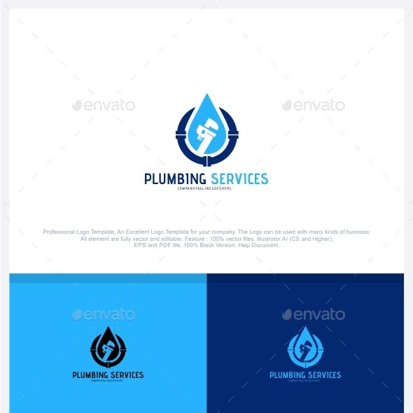Plumbing Service Logo