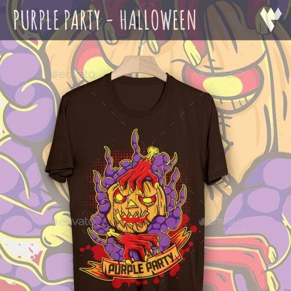 Purple Party - Halloween