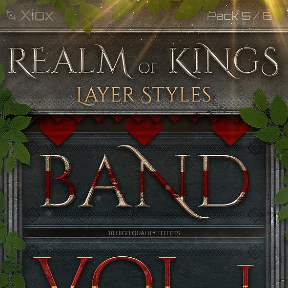Realm of Kings - Style Pack 5 -