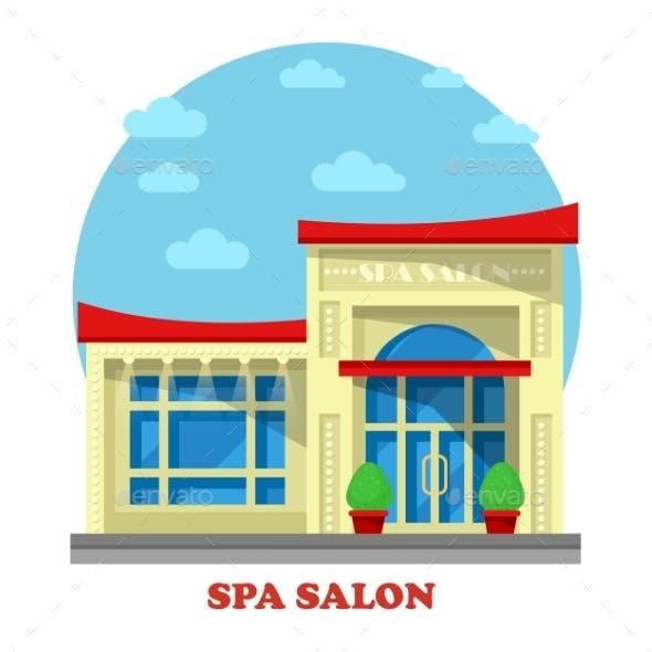 Spa Or Beauty Salon Or Parlor, Parlour Building