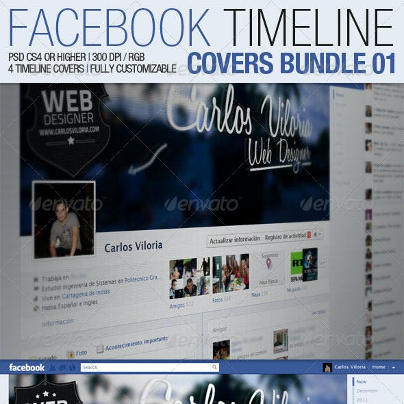 Facebook Timeline Covers Bundle 01