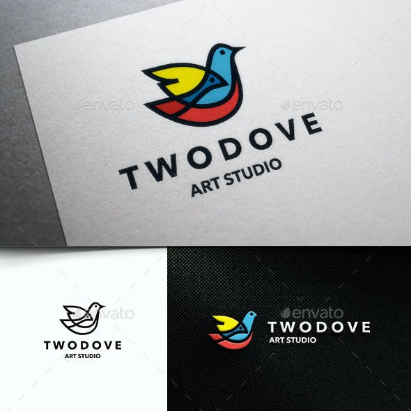 Two Colorful Bird