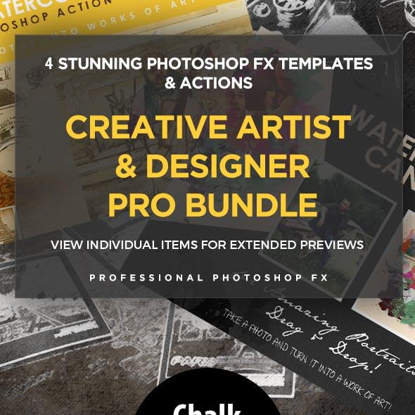 Creative Artist Designer Add-On Bundle (4in1)