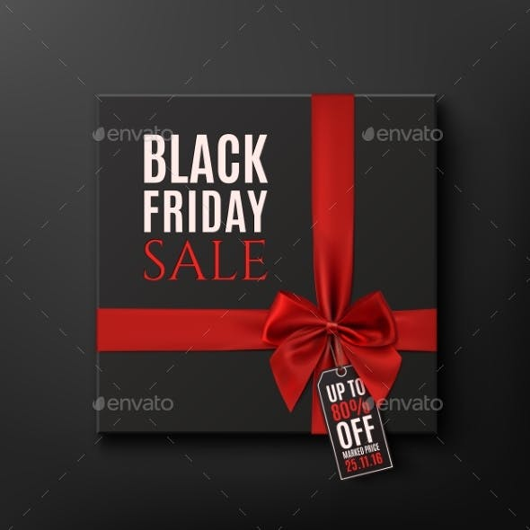 Black Friday Sale Conceptual Background
