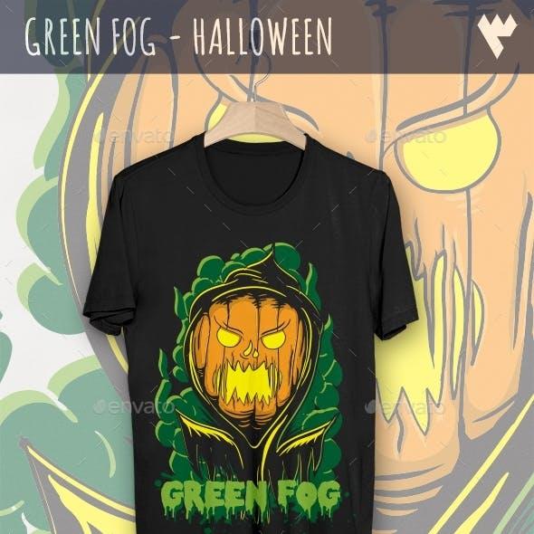 Green Fog - Halloween