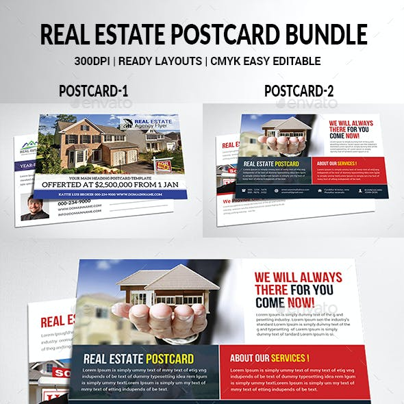 Real Estate Postcard Bundle