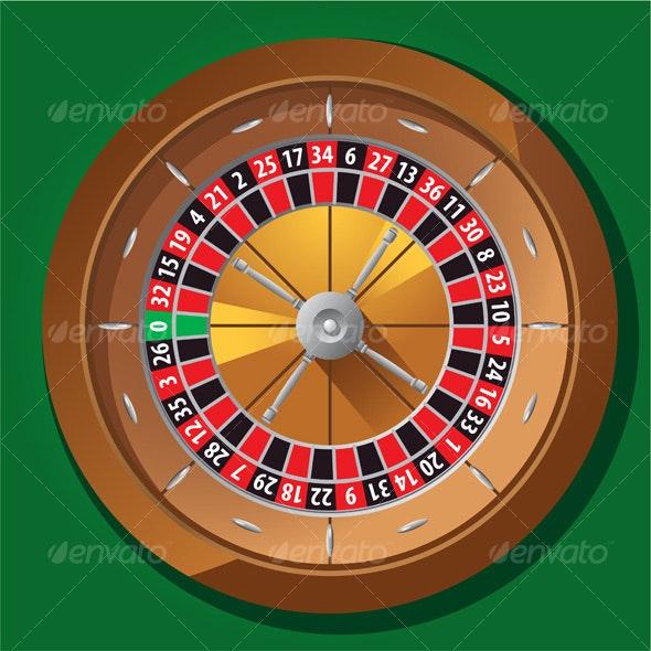 Roulette wheel - Miscellaneous Vectors