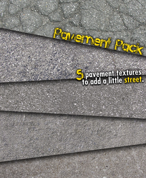Pavement Pack - Concrete Textures