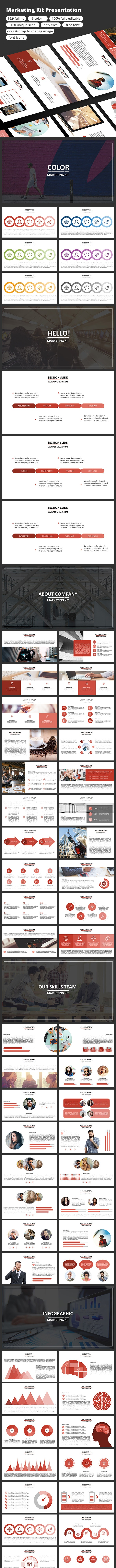 Marketing Kit - PowerPoint Presentation - Business PowerPoint Templates