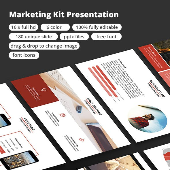 Marketing Kit - PowerPoint Presentation