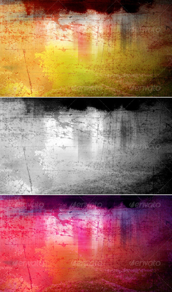 Abstract Color Grunge Background - Abstract Backgrounds