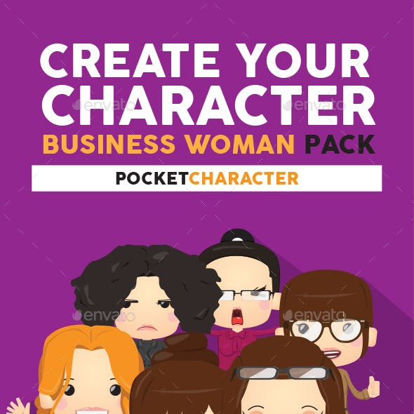 Business Woman Pack