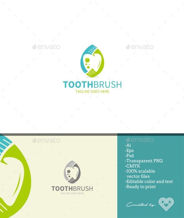 Tooth Brush - Symbols Logo Templates