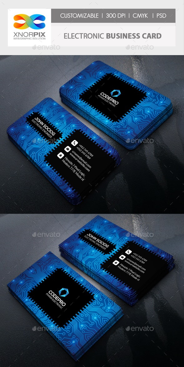 Electronic Business Card - Corporate Business Cards