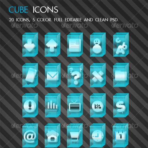 Cube Icons from GraphicRiver (Page 2)
