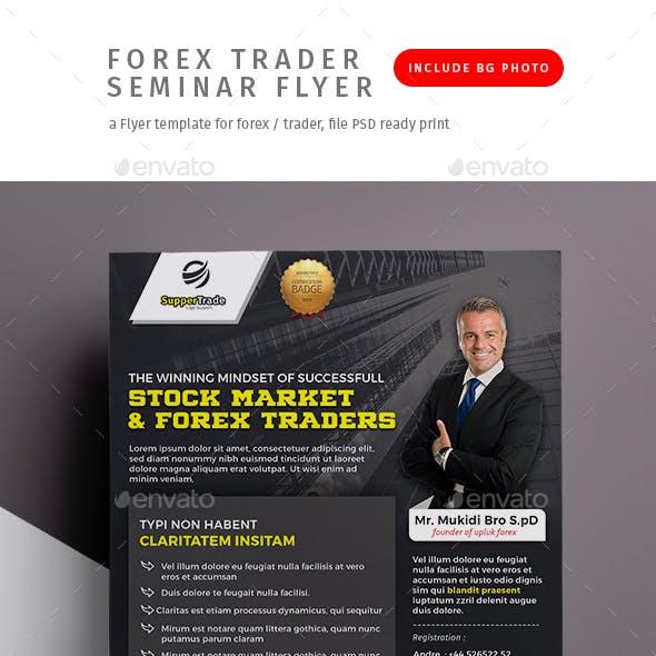 Forex Trader Seminar Flyer