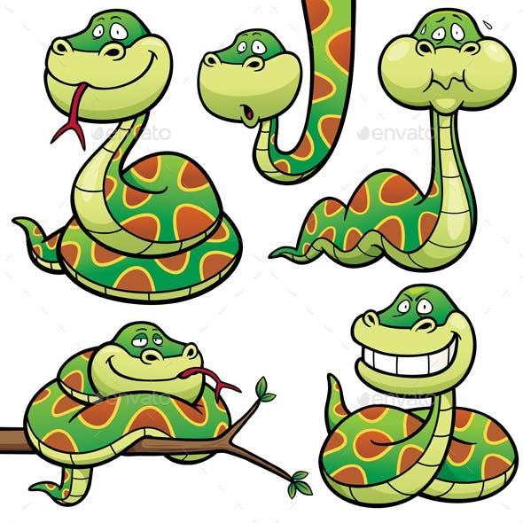 Cartoon Snake