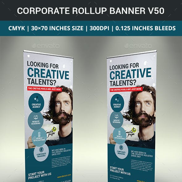 Corporate Business Rollup Banner v50