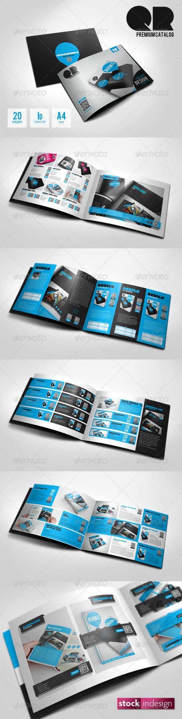 QR Flexible Product Catalog Premium v2 - Catalogs Brochures