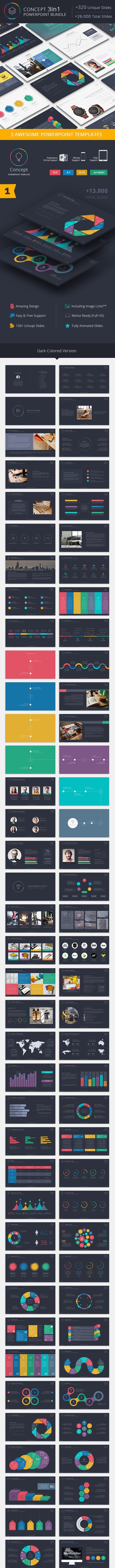 Concept Powerpoint Bundle - Creative PowerPoint Templates