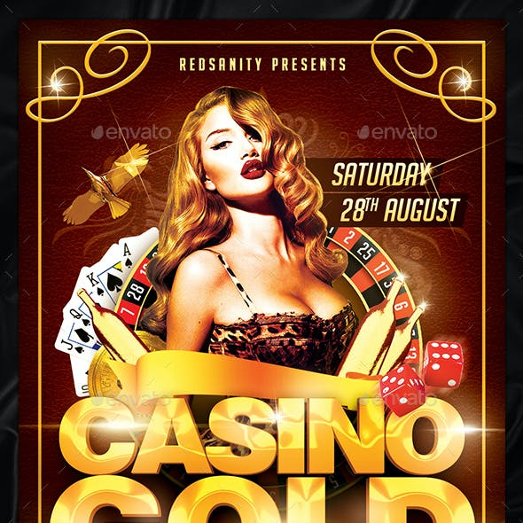 Casino Gold Flyer Plus FB Cover