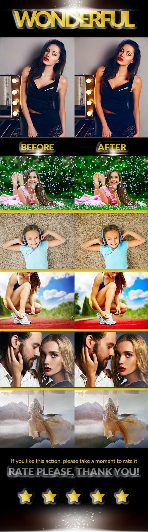 Сolor Enhancement - Photo Effects Actions